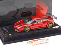 Ferrari 488 Challenge year 2016 fire red metallic 1:43 BBR