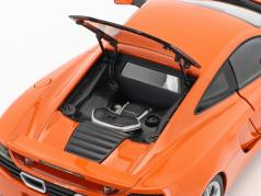 McLaren MP4-12C Year 2011 orange 1:18 AUTOart