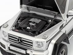 Mercedes-Benz Classe G G500 4x4² anno di costruzione 2016 argento 1:18 AUTOart