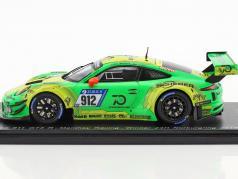Porsche 911 GT3 R #912 Winner 24h Nürburgring 2018 Lietz, Pilet, Makowiecki, Tandy 1:43 Spark