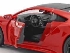 Acura NSX Baujahr 2018 rot 1:24 Maisto