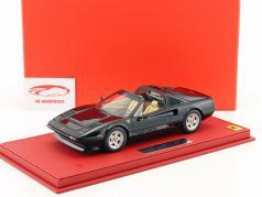 Ferrari 208 GTS Turbo year 1983 black 1:18 BBR