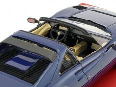 Ferrari 208 GTS Turbo year 1983 blue 1:18 BBR