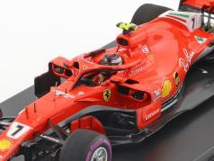 Kimi Räikkönen Ferrari SF71H #7 3 Australie GP formule 1 2018 1:43 LookSmart