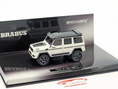 Brabus 500 4x4² based on Mercedes-Benz G500 4x4² year 2016 white 1:43 Minichamps