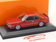 BMW 635 CSi (E24) year 1982 red 1:43 Minichamps