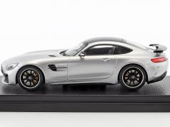 Mercedes-Benz AMG GT R year 2017 silver 1:43 Almost Real