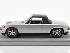 Porsche 914/6 Street Version Construction year 1970 silver metallic 1:18 Tecnomodel
