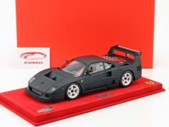 Ferrari F40 LM mat black 1:18 BBR