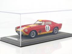 Ferrari 250 TDF #11 vainqueur de la classe 24h LeMans 1959 Dirty Version avec vitrine 1:18 BBR