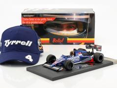 Stefan Bellof Tyrrell 012 #4 4 ° GP Zandvoort formula 1 1984 con berretto 1:18 Minichamps