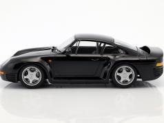 Porsche 959 year 1987 black 1:18 Minichamps