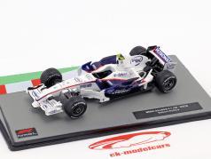 Robert Kubica BMW Sauber F1.08 #4 formula 1 2008 1:43 Altaya