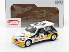 Renault 5 Maxi Turbo #4 2 ° Rallye de Asturias 1986 Sainz, Boto 1:18 Solido