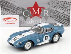 Shelby Cobra Daytona coupé #12 24h LeMans 1965 Schlesser, Grant 1:18 CMR