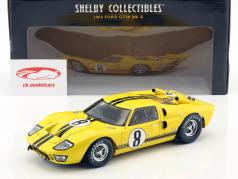 Ford GT 40 Mk II #8 24h LeMans 1966 Whitmore, Gardner 1:18 ShelbyCollectibles