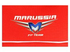 Bianchi / Chilton Marussia Team polo formula 1 2013 rosso / bianco dimensione 4XL
