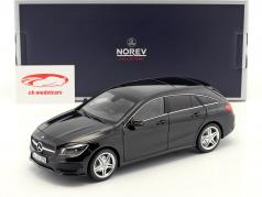 Mercedes-Benz CLA-classe (X117) Shooting Brake année de construction 2015 noir 1:18 Norev