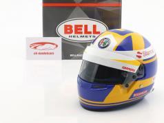 Marcus Ericsson Sauber C37 #9 formula 1 2018 helmet 1:2 Bell