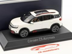 Citroen C5 Aircross year 2018 pearl white 1:43 Norev