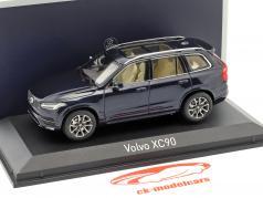 Volvo XC90 year 2015 dark blue metallic 1:43 Norev