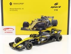 Nico Hülkenberg Renault R.S.18 #27 Chine GP formule 1 2018 1:18 Spark