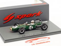 Denis Hulme Brabham BT11 #16 4th French GP formula 1 1965 1:43 Spark