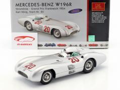 Karl Kling Mercedes W196R #20 GP France Formula 1 1954 1:18 CMC
