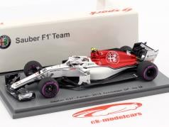 Charles Leclerc Sauber C37 #16 6 ° Azerbaijan GP formula 1 2018 1:43 Spark