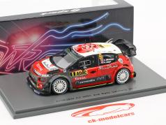 Citroen C3 WRC #9 2 Rallye Allemagne 2017 Mikkelsen, Jaeger 1:43 Spark