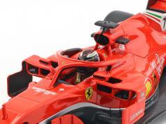 Kimi Räikkönen Ferrari SF71H #7 formule 1 2018 1:18 Bburago