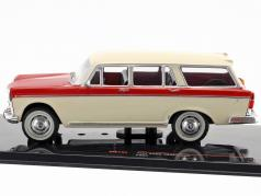Fiat 2300 Familiare year 1965 beige / red 1:43 Ixo