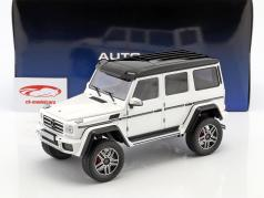 Mercedes-Benz G-Class G500 4x4² année de construction 2016 brillant blanc 1:18 AUTOart