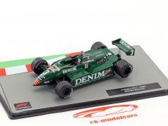 Michele Alboreto Tyrrell 011 #3 formule 1 1982 1:43 Altaya