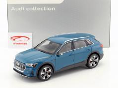Audi e-tron antigua blu 1:18 Norev