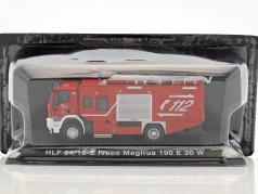 Iveco Magirus 190 E 30 W HLF 24/16-S pompiers St.Georgen rouge 1:72 Altaya