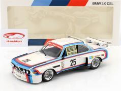 BMW 3.0 CSL #25 gagnant 12h Sebring IMSA 1975 Redman, Moffat, Posey, Stuck 1:18 Minichamps