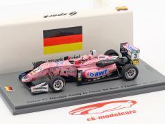 Maximilian Günther Dallara F312 #3 3 Zandvoort GP course 3 formule 3 2017 1:43 Spark