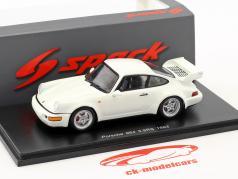 Porsche 911 (964) Carrera 3.8 RS year 1993 white 1:43 Spark