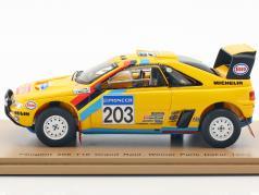 Peugeot 405 T16 #203 vincitore Rallye Paris - Dakar 1990 Vatanen, Berglund 1:43 Spark