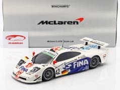 McLaren F1 GTR #42 24h LeMans 1997 Lehto, Soper, Piquet 1:18 Minichamps