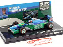 Mick Schumacher Benetton B194 #5 Demonstration Run belge GP Spa formule 1 2017 1:43 Minichamps