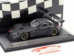 BMW Z4 GT3 Plain Body Version satin noir 1:43 Minichamps