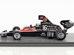 Tom Pryce Shadow DN5B #16 7 Sud africain GP formule 1 1976 1:43 Spark