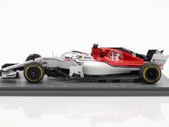 Marcus Ericsson Sauber C37 #9 9 bahrain GP formule 1 2018 1:43 Spark