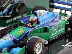 Mick Schumacher Benetton B194 #5 Demonstration Run Belgian GP Spa formula 1 2017 1:43 Minichamps