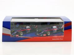 P. Gasly #10 & B. Hartley #28 2-Car Set Scuderia Toro Rosso STR13 Formel 1 2018 1:43 Minichamps