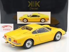 Ferrari 246 GT Dino année de construction 1973 jaune 1:12 KK-Scale