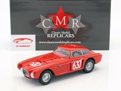 Ferrari 340 Berlinetta Mexico #637 Mille Miglia 1953 Castellotti Regosa 1:18 CMR