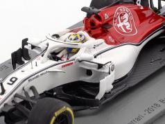 Marcus Ericsson Sauber C37 #9 9th bahrain GP formula 1 2018 1:43 Spark